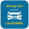 Practice driving test for CA أيقونة