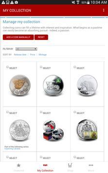 Royal Canadian Mint screenshot 3