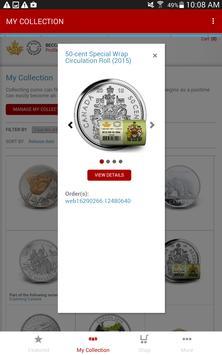 Royal Canadian Mint screenshot 4
