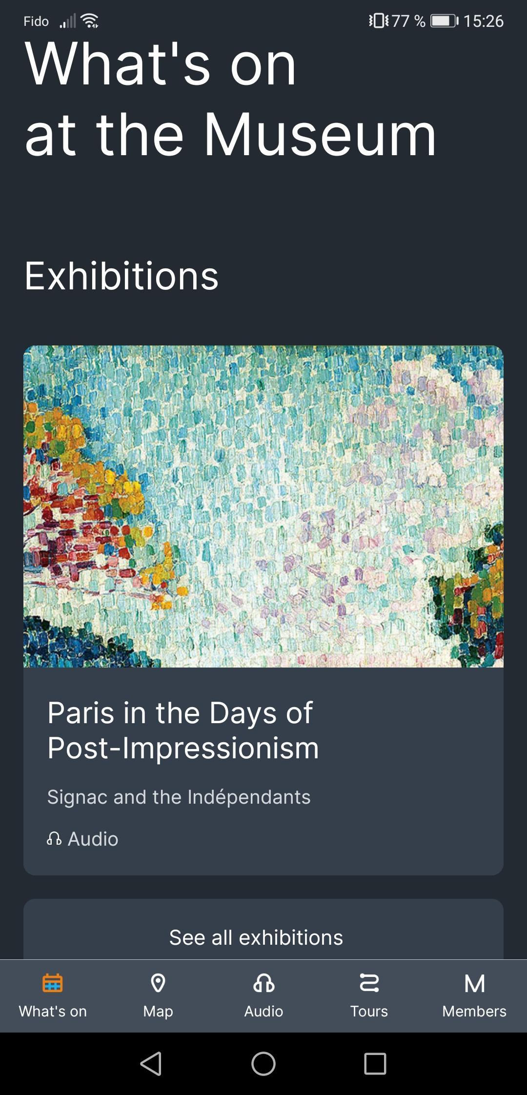 Montreal Museum of Fine Arts poster