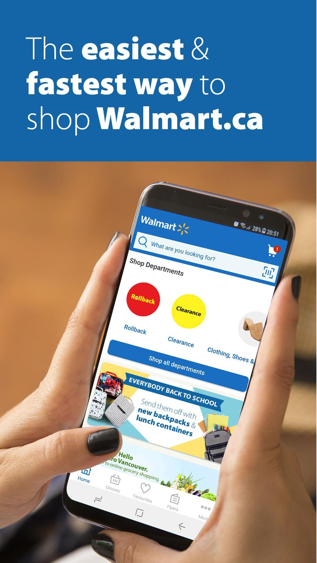 Walmart Canada - Online Shopping & Groceries for Android