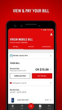 Virgin Mobile My Account Ekran Görüntüsü 2