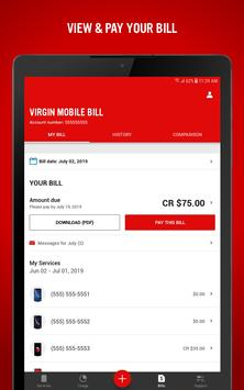 Virgin Mobile My Account Ekran Görüntüsü 7