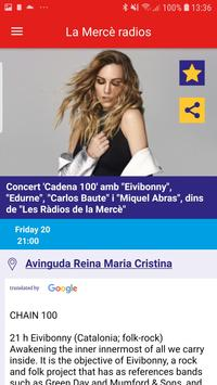 Mercè 19 Festa Major Barcelona screenshot 4