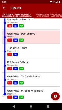 Next bus Barcelona screenshot 3