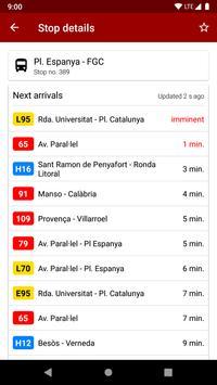 Next bus Barcelona screenshot 2