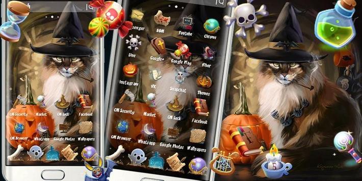 Halloween Cat Theme screenshot 3
