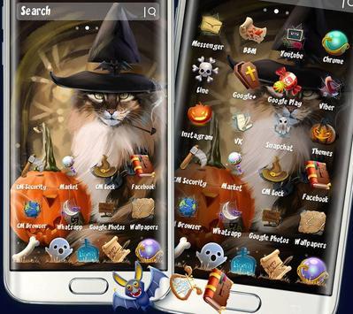 Halloween Cat Theme poster