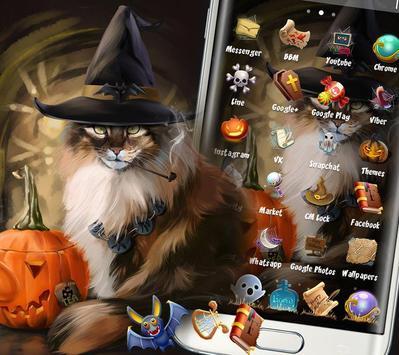Halloween Cat Theme screenshot 1