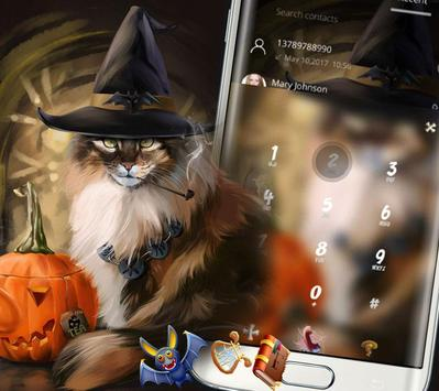 Halloween Cat Theme screenshot 2