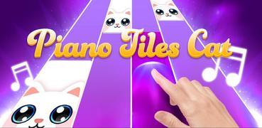 Pink Cat Piano - Magic Girly Piano Tiles Cat