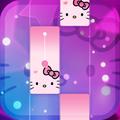 Magic Cat Piano Tiles - Crazy Tiles Pink Girly