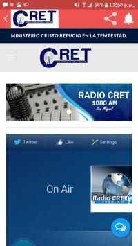 Radio CRET poster