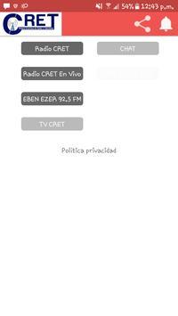 Radio CRET screenshot 1
