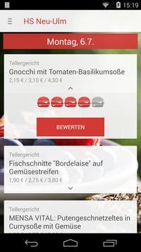 Mensa HS Neu-Ulm screenshot 1