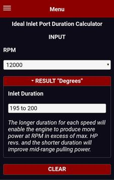 Two 2 Stroke Inlet Port Open Duration Calculator screenshot 4