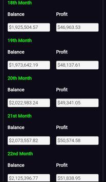 Forex Plan Compounding Interest Calculator PRO screenshot 4