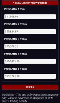 Forex Plan Compounding Interest Calculator PRO screenshot 6