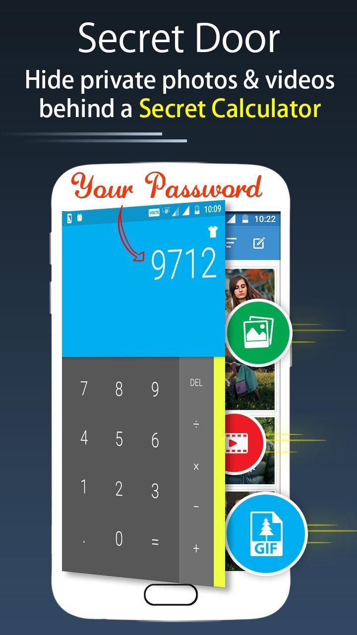 Calc Vault-Photo,video locker,Safe Browser,Applock for