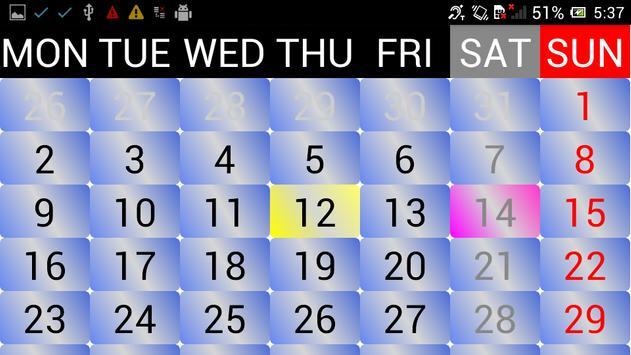2021 Sinhala Calendar screenshot 4