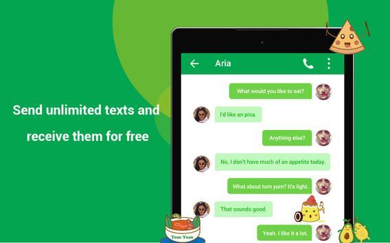 Free Call : Call Free  & Free Text screenshot 12