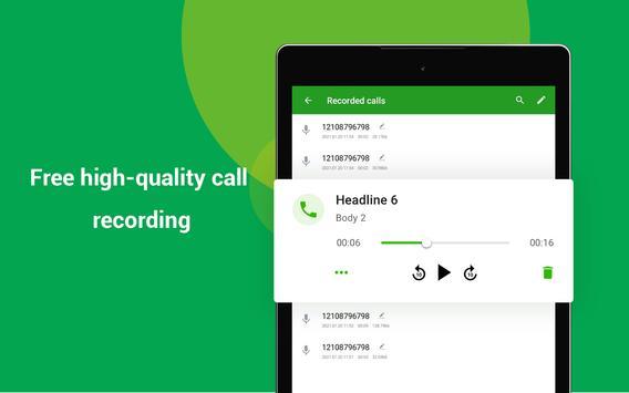 Free Call : Call Free  & Free Text screenshot 13