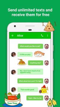 Free Call : Call Free  & Free Text screenshot 5