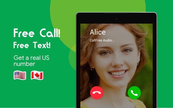 Free Call : Call Free  & Free Text screenshot 8