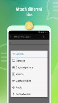 2 Schermata SMS Message & Call Screening