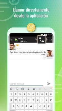 Mensajes SMS captura de pantalla 3