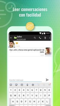 Mensajes SMS captura de pantalla 1