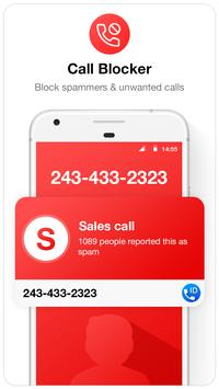Caller ID  & Call Blocker Free скриншот 1