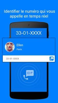 Caller ID - Appel Blocage capture d'écran 1