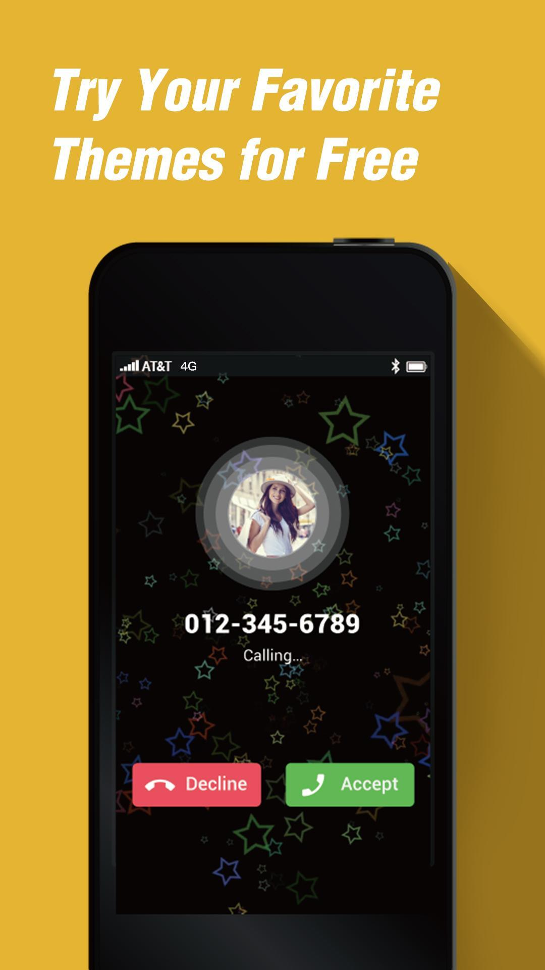 phone 4s style caller screen theme - iOS 6 theme for Android - APK