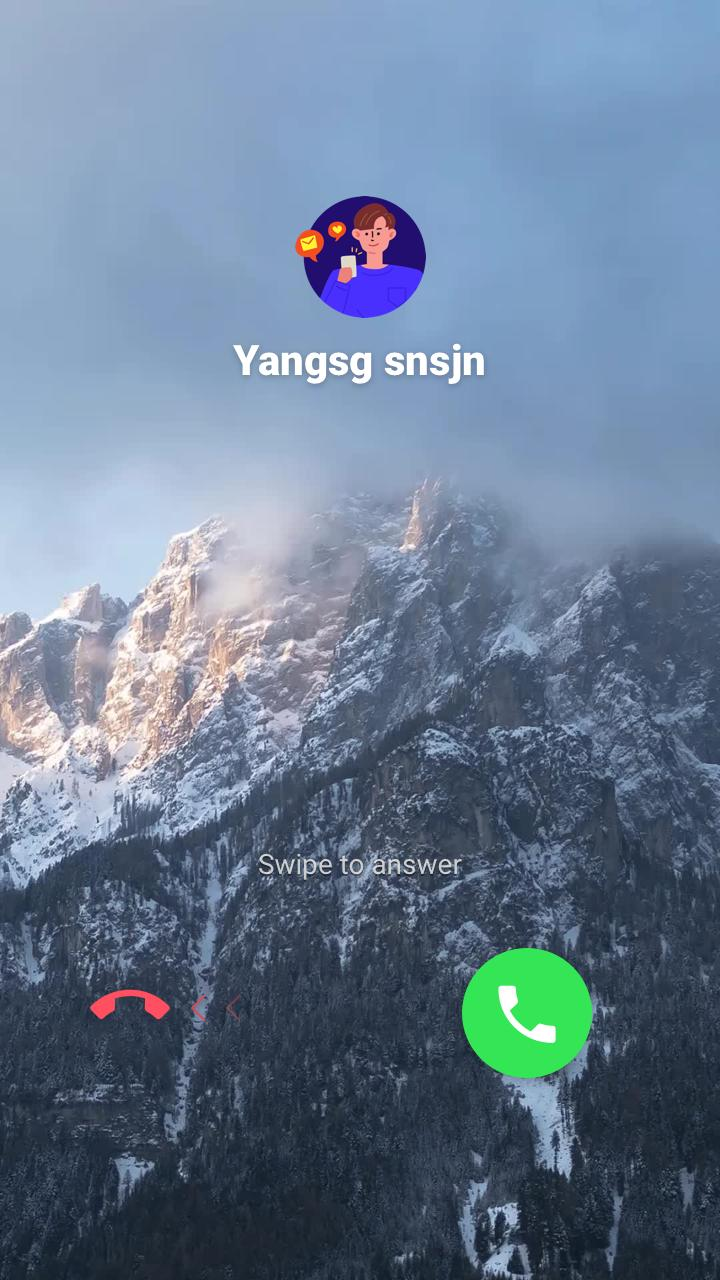 S8 style call screen theme, full screen caller ID for Android - APK