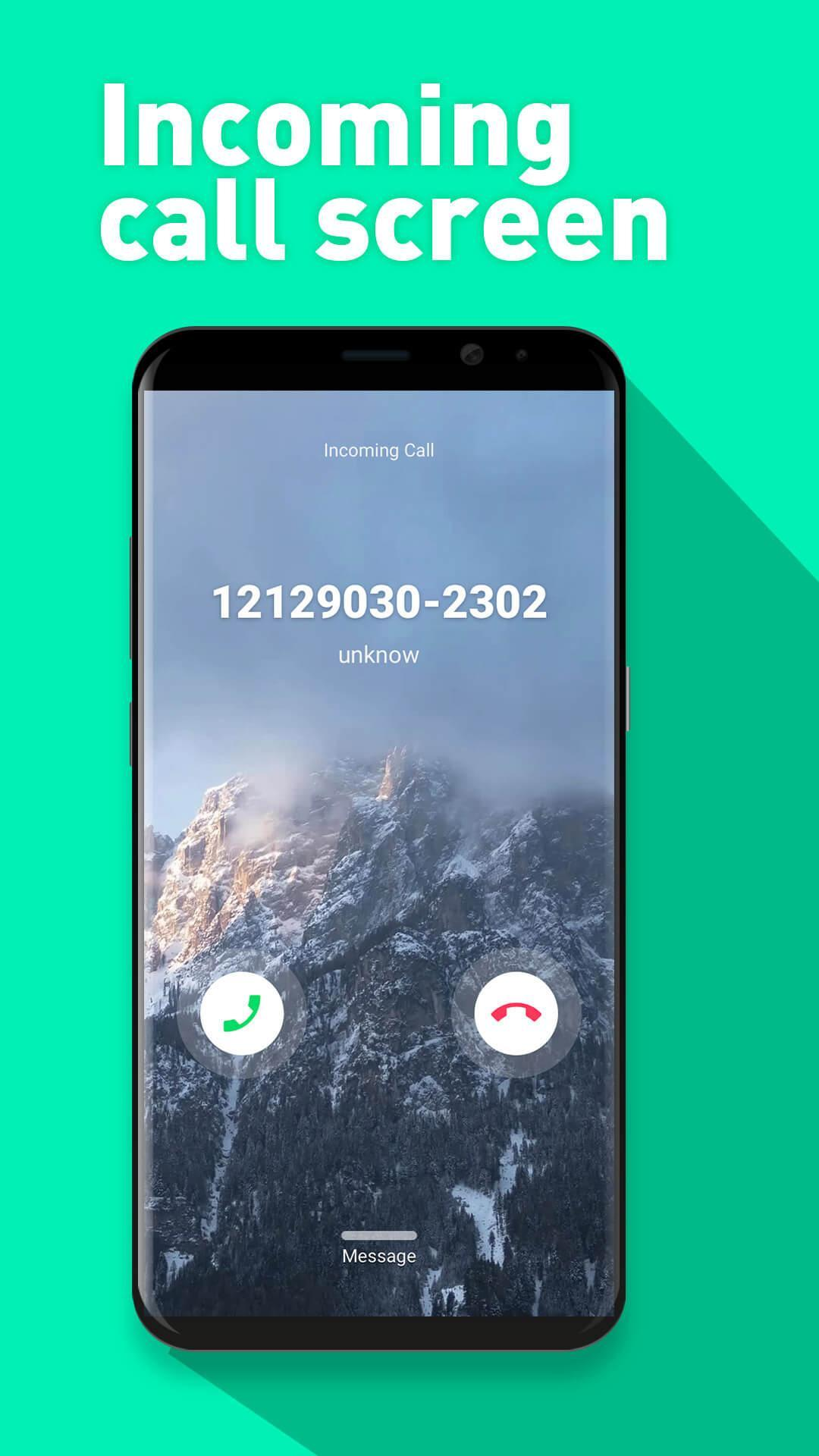 S9 style theme for Samsung, full screen caller ID for Android - APK