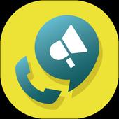 Notificador de chamada ícone