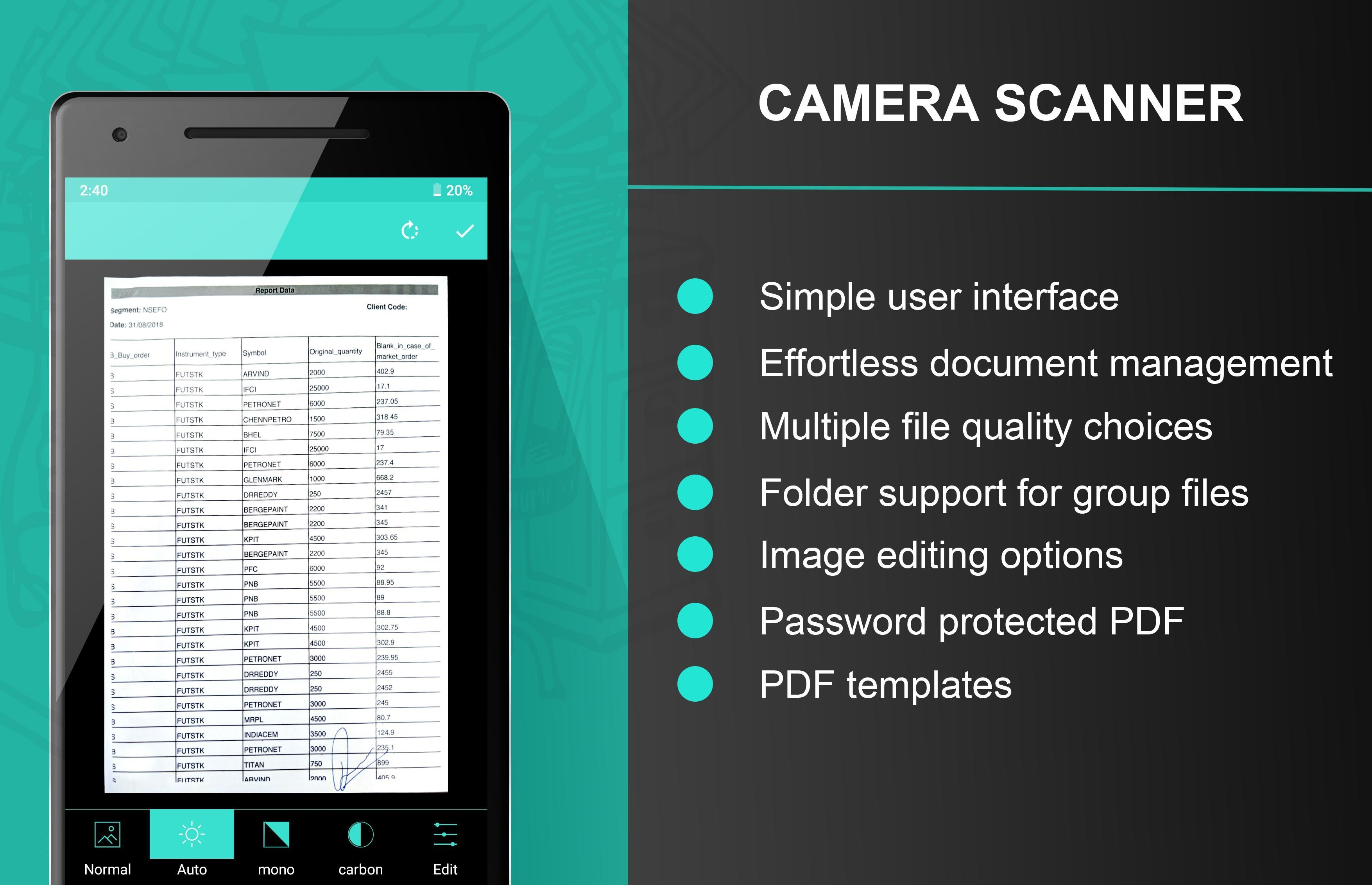 Camera Scanner for Android - APK Download