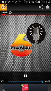 Canal 6 Radio poster