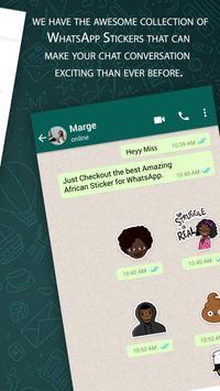 African Sticker For Whatsapp Mega Pack 2019 screenshot 2