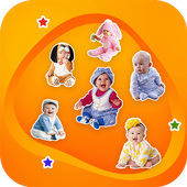 Cute Baby Sticker For Whatsapp Full Pack 2019 icon
