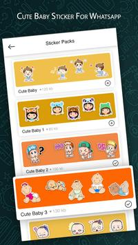 Cute Baby Sticker For Whatsapp Full Pack 2019 poster