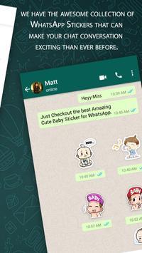 Cute Baby Sticker For Whatsapp Full Pack 2019 screenshot 2