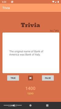 Trivia Game screenshot 1