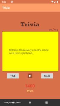 Trivia Game screenshot 2