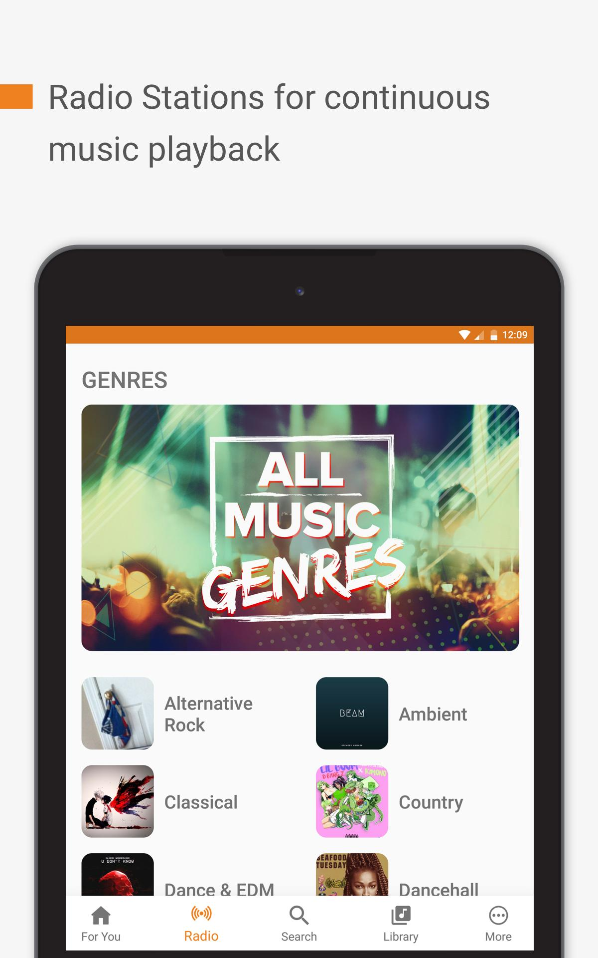 Free Music Unlimited For Youtube Stream Player For Android Apk Download