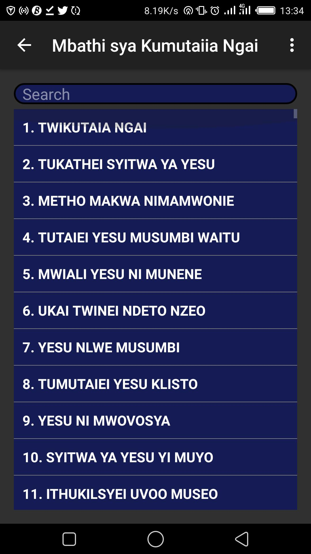 Mbathi Sya Kumutaiia Ngai for Android - APK Download