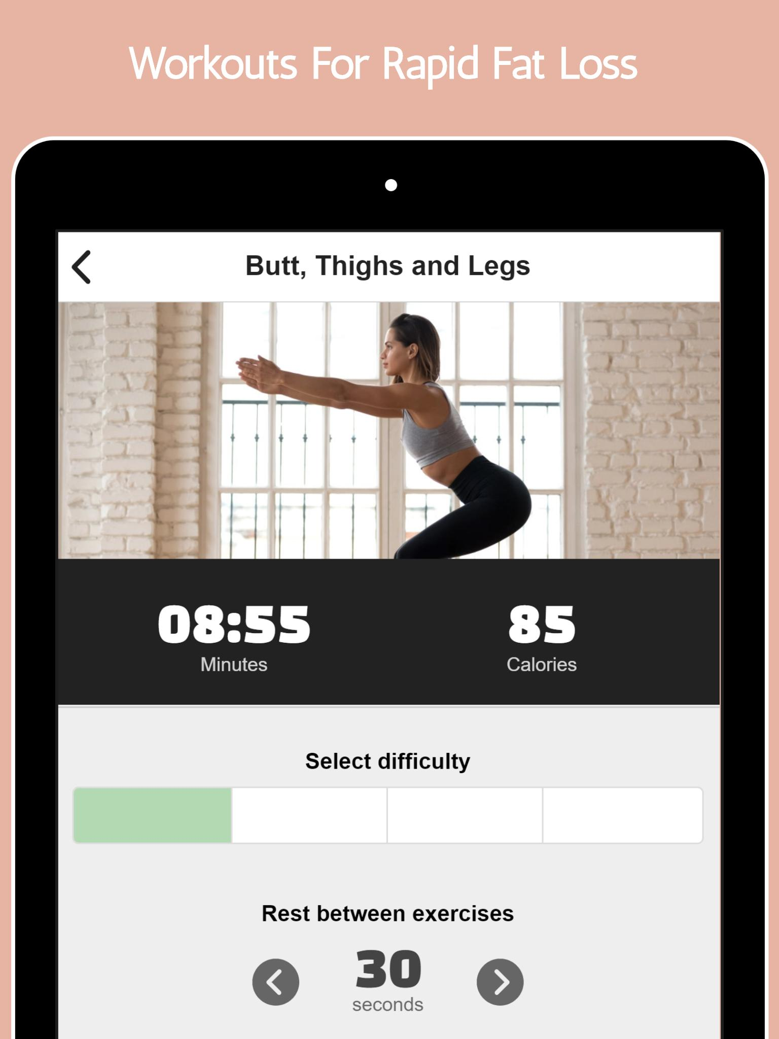 Descărcare Apk Fat Burning Workouts - Lose Weight Home Workout