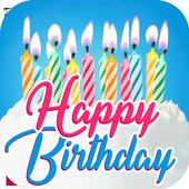 Happy Birthday Cards App biểu tượng