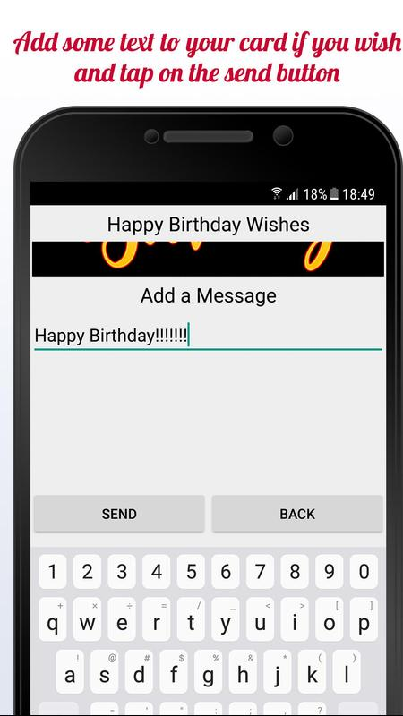 Happy Birthday Cards Free App Screenshot 2